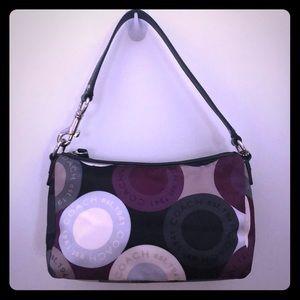 Multicolored Coach shoulder bag